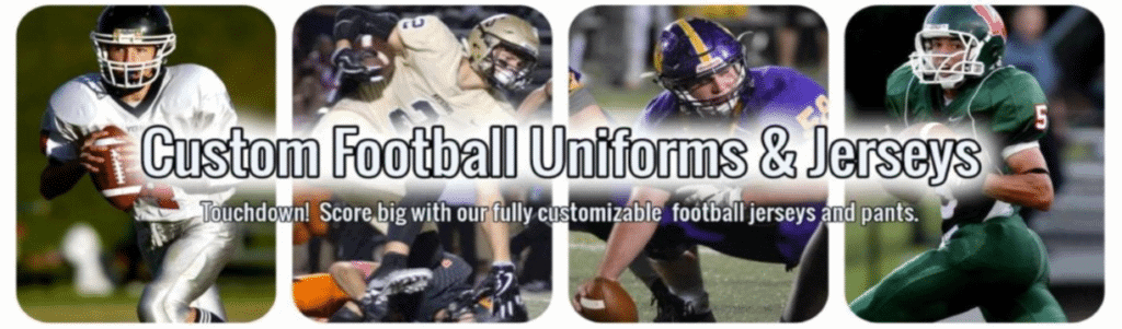 3 Definite Tips to Design Your Custom Football Uniforms Perfectly