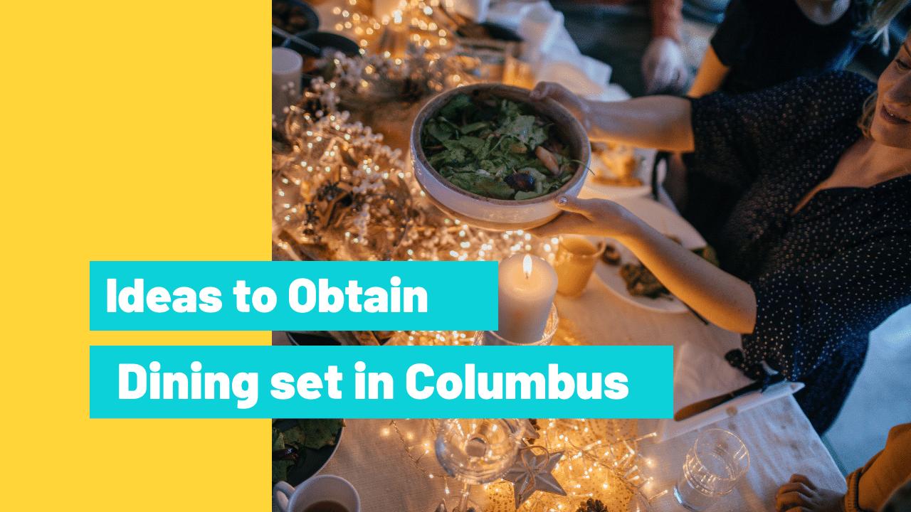 Dining set in Columbus