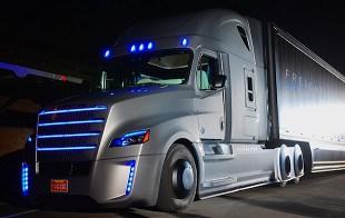 Freightliner semi trucks