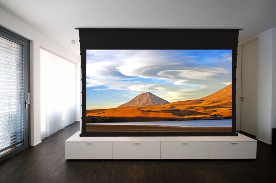DIY Tips To Install Tab-Tensioned In-Ceiling Projector Screen