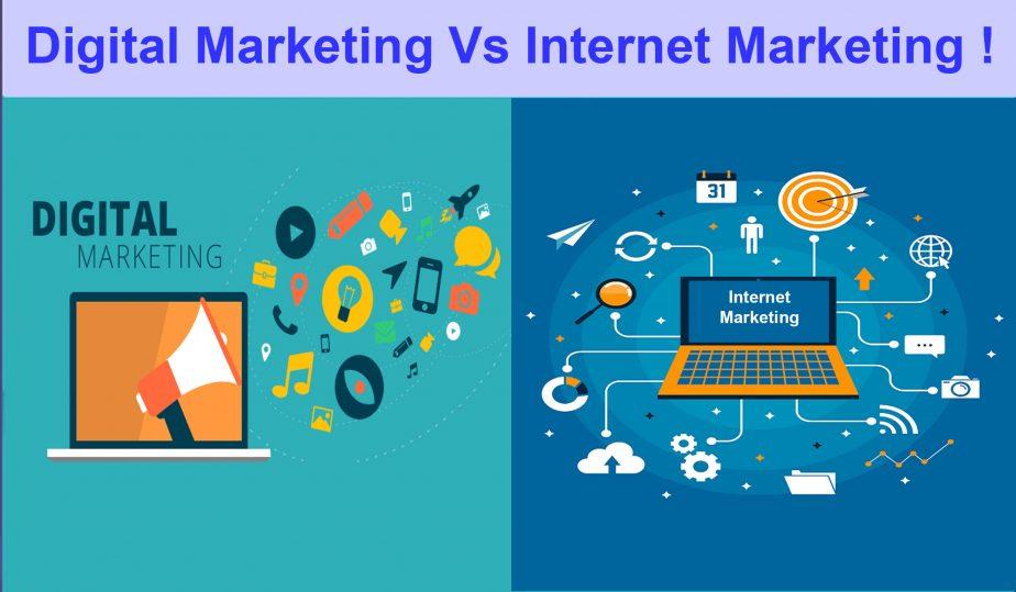 Online Marketing Vs Digital marketing: How they differ
