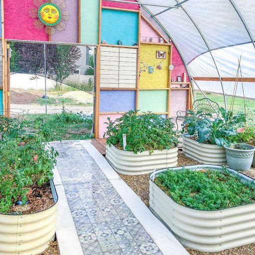 How do you make your raised garden bed?